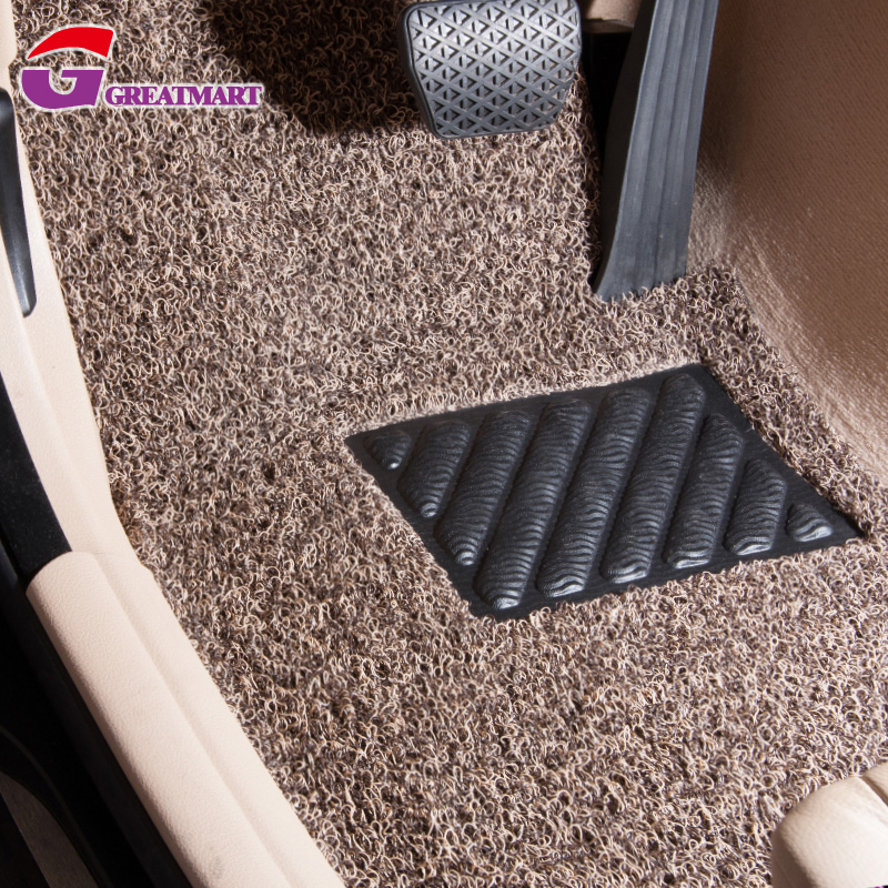 crystal pvc coil car mat pvc car mat in roll