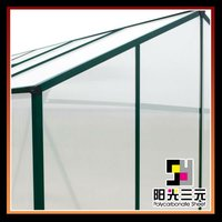 greenhouse UV plastic sheet ; greenhouse roofing panel;greenhouse sun panel