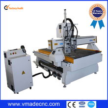 Auto tool changer cnc router for wood kitchen cabinet door 3d cnc wood carving cutting machine