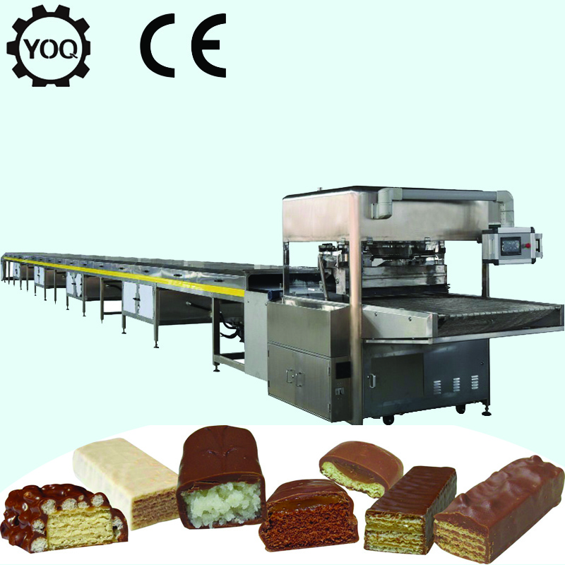 Z0376 Chocolate Coating Line in Shanghai Confectionery Machinery