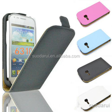 Leather Flip Cover Case for Samsung Galaxy Young gt-s6310