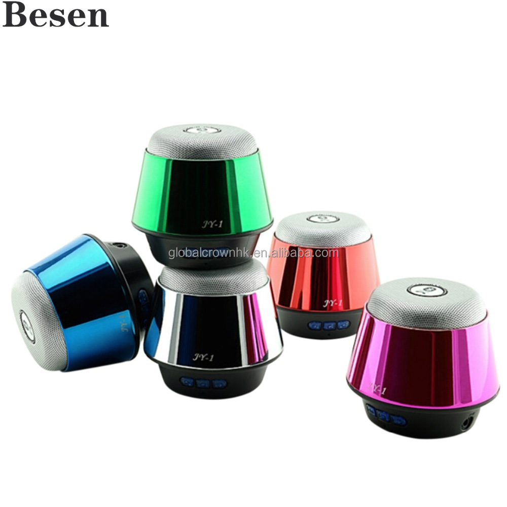 Mini Bluetooth Speaker JY-1 with Car Holder, Hands Free, TF and FM radio