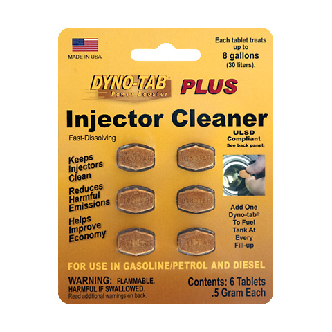 Dyno-tab PLUS Injector Cleaner 6-tab Card