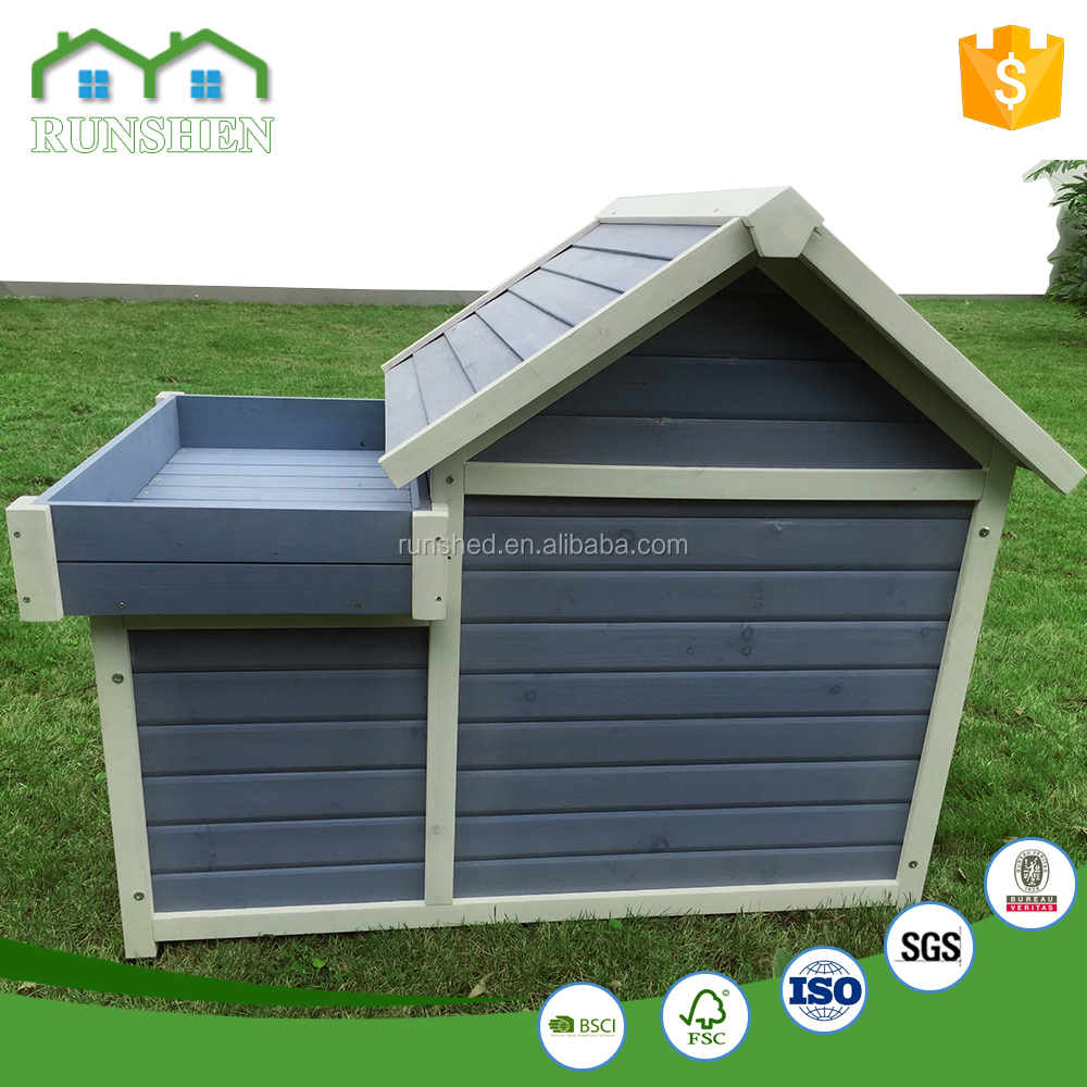 Outdoor Dog House modular dog kennel Eco-Friendly A-frame High Quality pet products wooden pet house