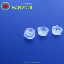 HANVNOL Customized 93% transmittance clear cob pmma led condenser lens spot projector led optical focusing lens for led