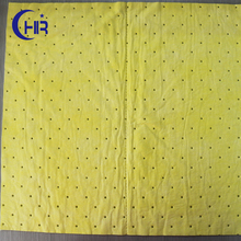 Yellow oil absorbent nonwoven fabric for mechanical equipment oil pollution