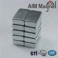 strong neodymium magnet factory 20 x 4 x 2mm thick N42