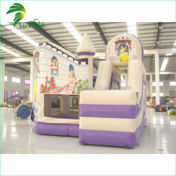 inflatable princess park castle/kids outdoor playing fun city/design kids play park
