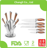 Promotional hollow handle stainless steel kitchen knives