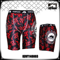 Sublimated Stretch MMA Vale Tudo Compression Lycra Shorts
