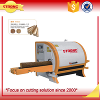 multiple log saw machines for sawing round wood