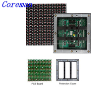 Coreman virtual pixel high resolution led display screen p8 p10 led module full color led board