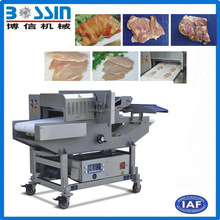 China top quality large capacity semi automatic fresh meat slicer