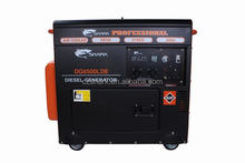 5KVA Rare-Earth Silent Diesel Generator for home use Big Fuel Tank