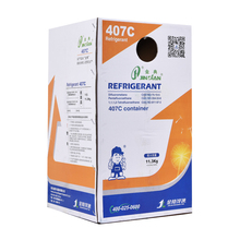 Refrigerant air conditioner gas R407c