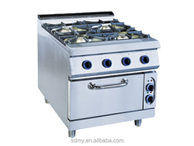4 gas burners free standing gas cooker,4 burner gas stove with oven