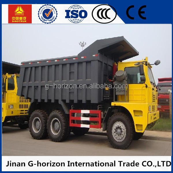 Mining use 10-wheel howo 80t dump truck for sale