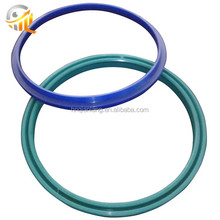 Factory oem parts clear silicone o-ring flat washers/gaskets custom rubber gasket