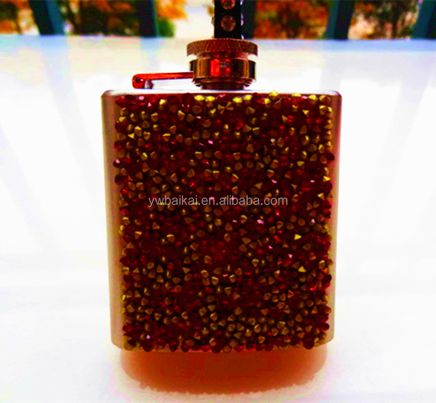 6OZ the newest design stainless steel hip flask