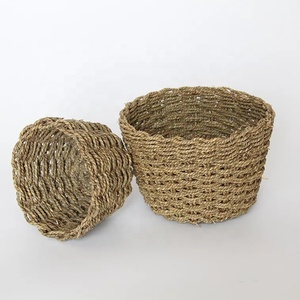 plant fiber Woven Bread Roll Basket and Food Serving Baskets