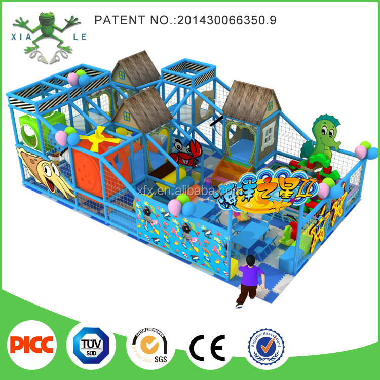 Fantastic design ocean theme dog playground equipment for sale for small zone