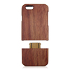 2016 new phone cases pure wood bamboo cell mobile phone back cover case for iPhone 6 wood case
