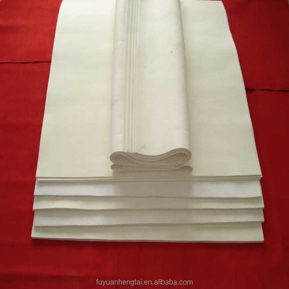 Polyester needle punched nonwoven felt fabric from China