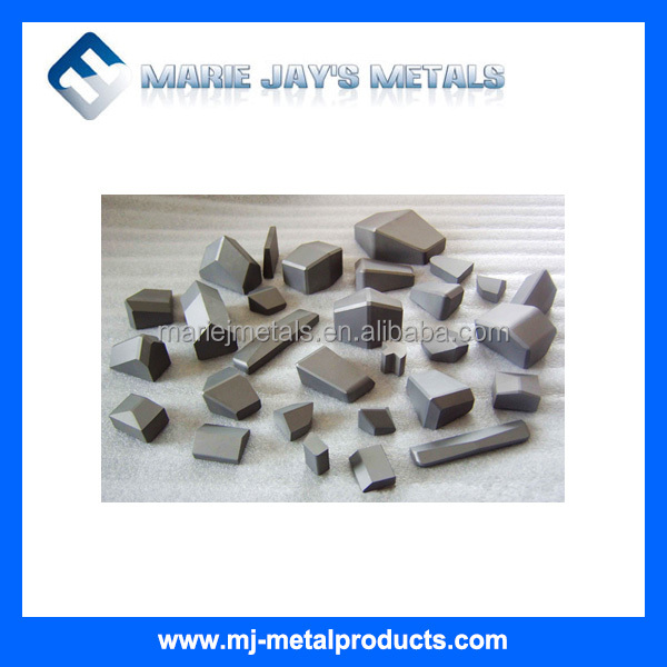 Wholesale tungsten carbide cutting saw tips , brazed tips