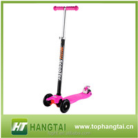 Chinese scooter supplier cheap 3 wheel foot scooter for kids