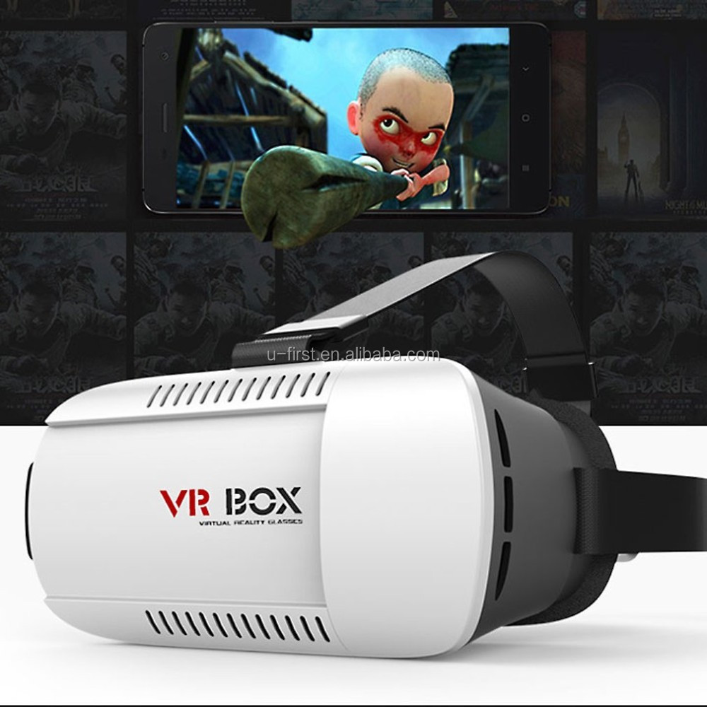 2016 new arrive VR box 2nd Generation Distance Adjustable VR Box 3D Glasses