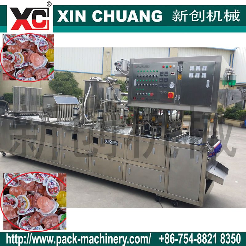 CFD-24 Jelly Auto Filling and Sealing Machine