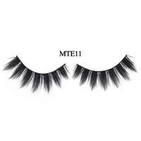 3D Faux Mink Double-Layered Silk Lashes Synthetic False Eyelashes silk lashes 3d