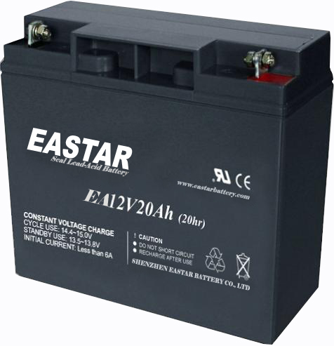 E bicycle battery 12V20AH 6FM20 electric scooter battery 12v 20Ah