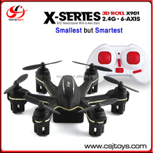 Trade assurance MJX X901 Smallest 6-axis RC Quadcopter Mini Drone Black and white
