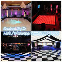 2015 cheap led portable dance floor