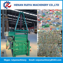 Professional hydraulic baling press machine/plastic bag baler
