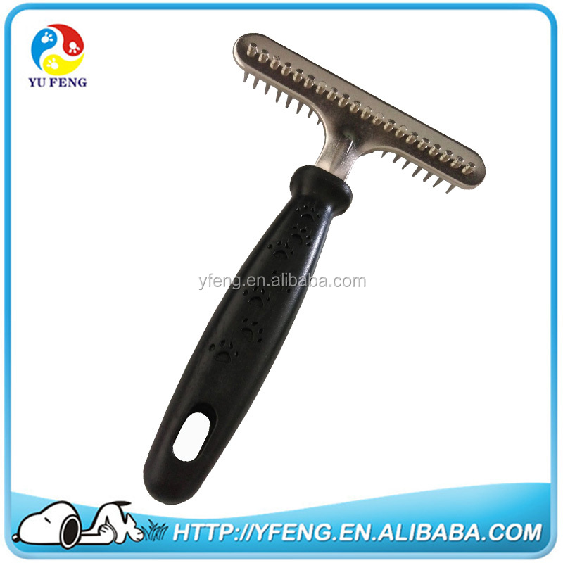 Pet Stainless Steel Grooming Comb Tool Poodle Finishing Comb dog