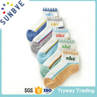 custom wholesale style original teen boys tube cartoon socks for baby kids socks