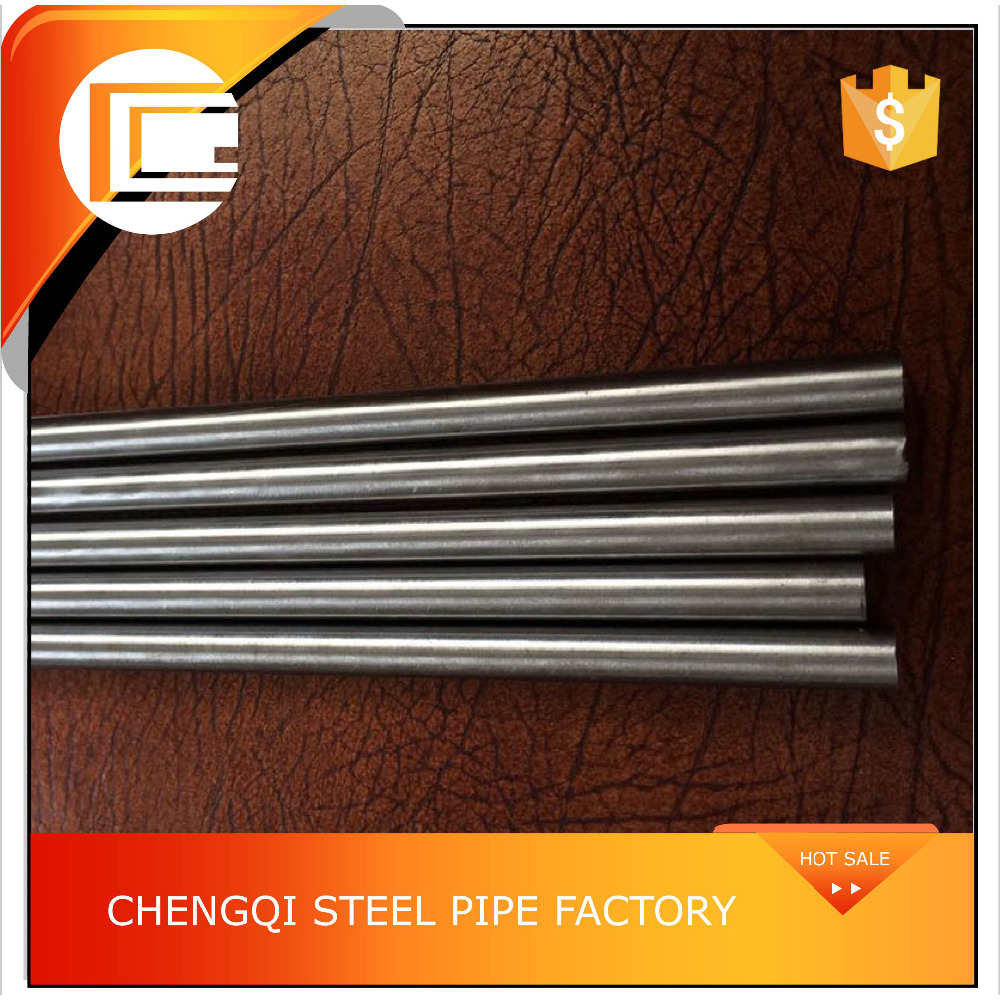 thin wall black steel for hydraulic fluid line cold drawn seamless pipe