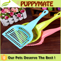 Wholesale pet poop scooper pet grooming tools plastic scoopers