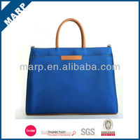"Fashion business 14"" polyester sapphire laptop bag"