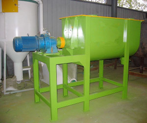 feed biomass mixer plant