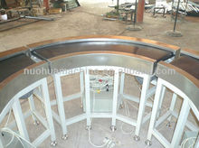 motorized curved belt conveyor