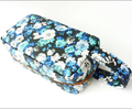The Cheap Printing Flower Cosmetic Bag PU Leather Makeup Bag