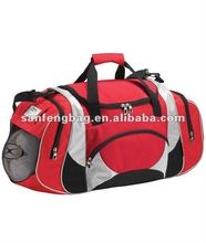 teams or clubs duffle sports bags with Side pocket ball holder