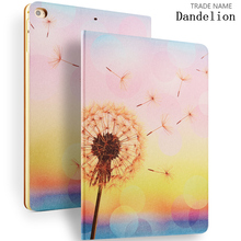DandelionPainting Case for New iPad 2017, for iPad 9.7 inch Case, for New iPad with Auto Sleep/Wake