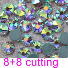 2016 hotfix rhinestone with Czech glue back 16 cutting face loose crystal