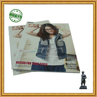 Pur binding catalogues with illustrated pictures\ Beautiful women's first choice-jeans in full color