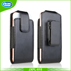 2016 New Design Belt Clip Universal Cell Phone Leather Pouch Case