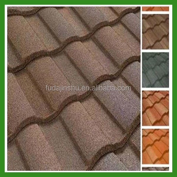 New Type of house decoration roof tile manufacturer 1340*420mm